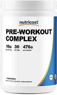 Nutricost Pre-Workout Complex Powder Peach Mango (30 Serv)