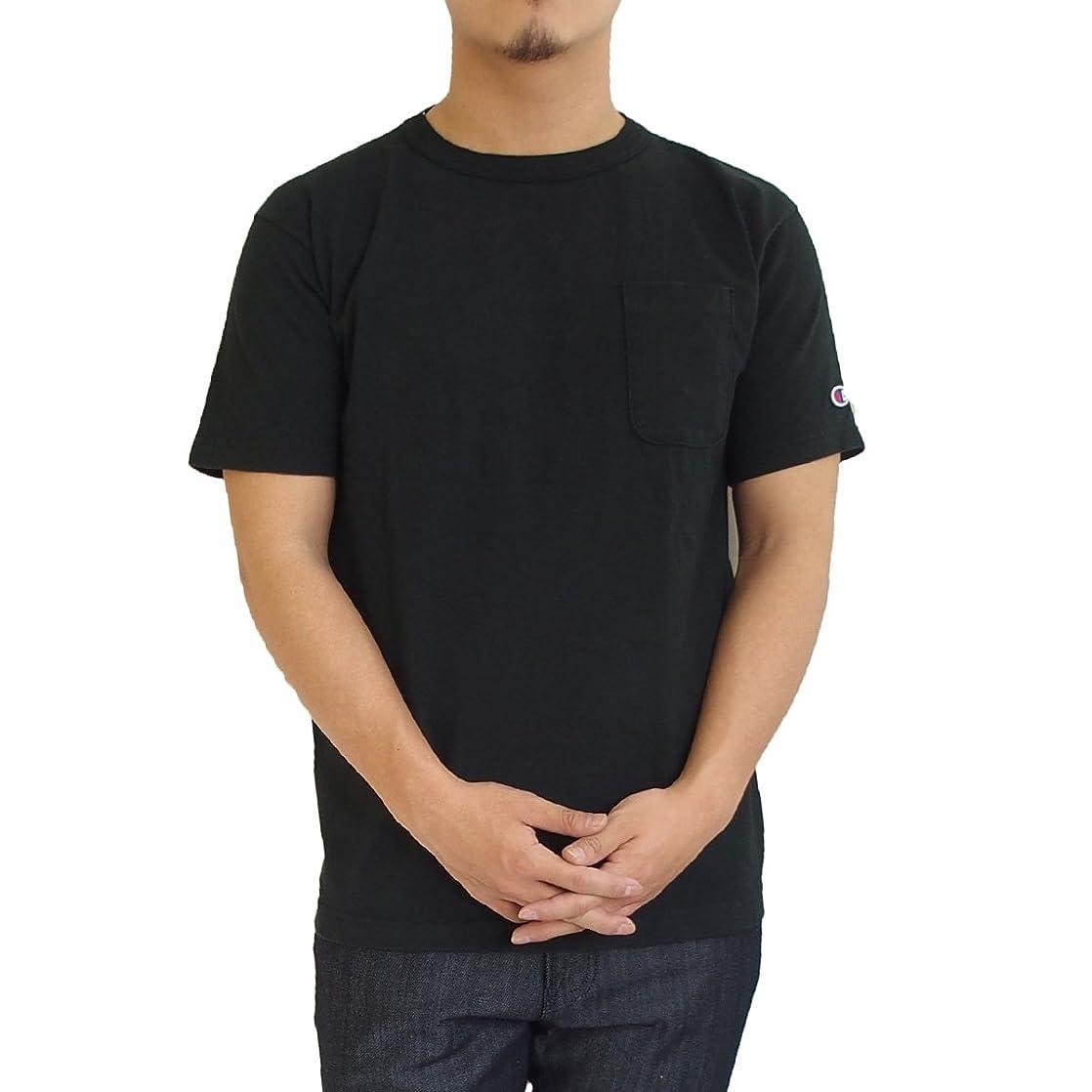 悲しい娯楽勧告(チャンピオン) Champion T1011 ポケットTシャツ ヘビーウェイト [515C5B303]