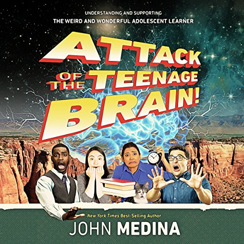 Attack of the Teenage Brain cover art