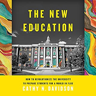 The New Education audiobook cover art