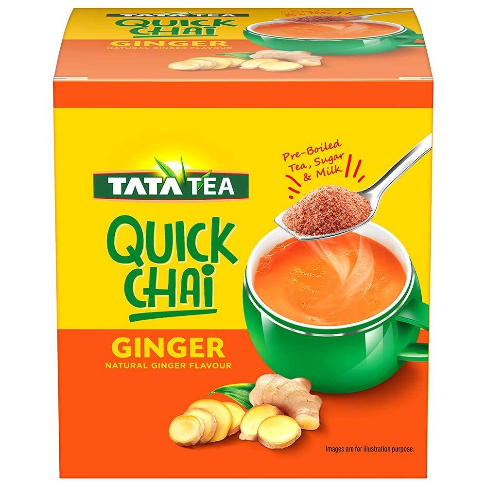 Tata Tea Quick Mail Regular dealer order Chai Ginger - Pack of 220gms 3