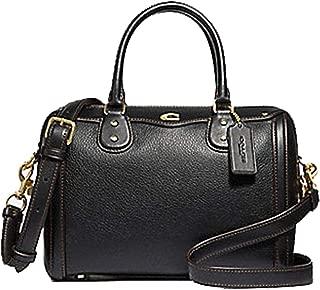 Signature Bennett Satchel Tote Bag Handbag