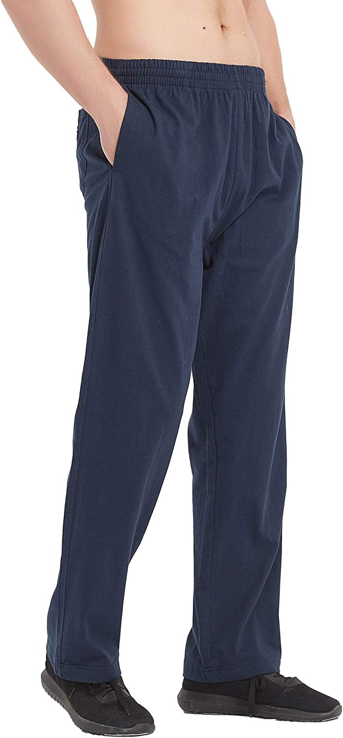 Super special Don't miss the campaign price Akula Men's Yoga Running Sweatpants Bottom Athletic Cotton Open