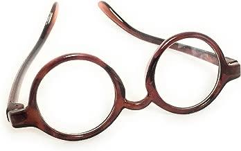 "BROWN TORTOISE Acrylic DOLL EYE GLASSES Eyeglasses fits 18"" AMERICAN GIRL Doll"