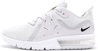 Nike Air Max Sequent 3 (5, Pure Platinum/Black/White 2)