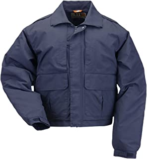 5.11 Men's Tactical Double Duty Police/Patrol Jacket with Badge Tab Kit, Style 48096