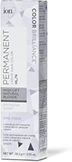 Ion HL-N Hi Lift Natural Blonde Permanent Creme Hair Color HL-N Hi Lift Natural Blonde