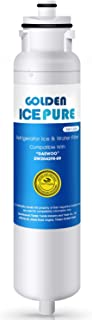 Golden Icepure DW2042FR-09 Refrigerator Water Filter, Compatible with Daewoo DW2042FR-09, Kenmore 46-9130, Aqua Crystal DW2042F-09 and More