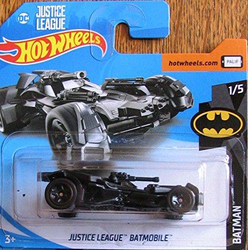 Hot Wheels 2018 Batman DC Comics Justice League Batmobile Black 1/365 (Short Card) …
