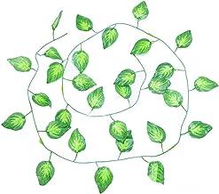 5 stks 2.2-2.4m Kunstmatige Verlof Garland Fake Groen Blad Ivy Vine Kunstmatige Plant Muur Opknoping Garland Bruiloft Thui...