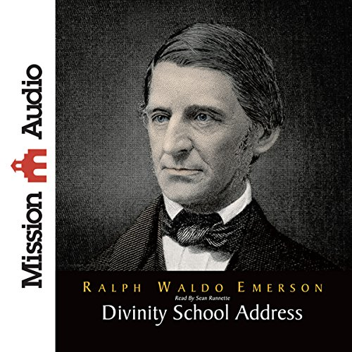 Divinity School Address audiobook cover art