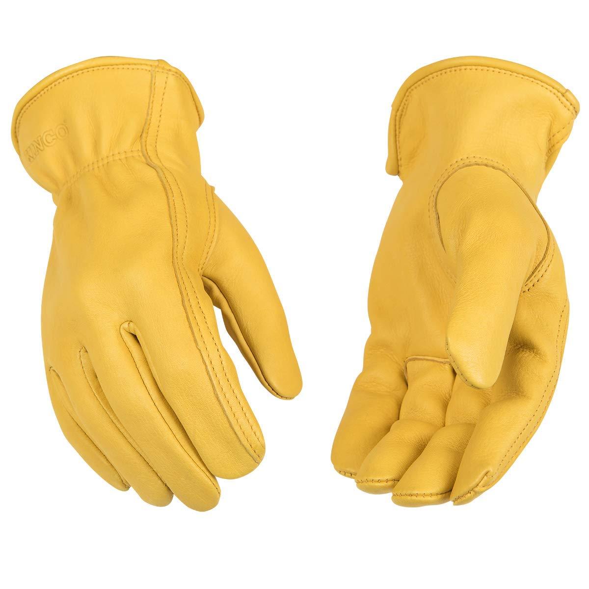 Inexpensive Kinco - Unlined Premium Deerskin Tulsa Mall 90 Work Gloves Leather