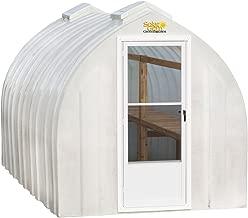 Solar Gem 8' x 12' Medium, Fully Assembled, Heavy Duty, Walk-In Fiberglass Greenhouse
