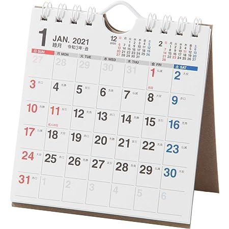 能率 NOLTY 2021年 カレンダー 卓上 39 B7変型 C239