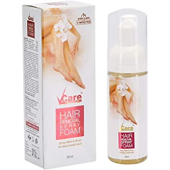 Vcare Hair Removal Spray Foam 50 Ml Amazon In Health Personal