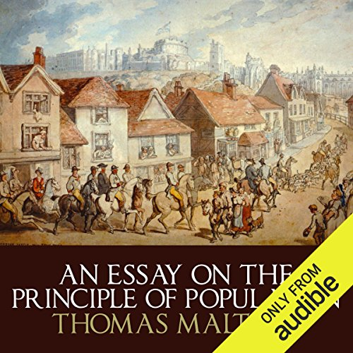 An Essay on the Principle of Population audiobook cover art