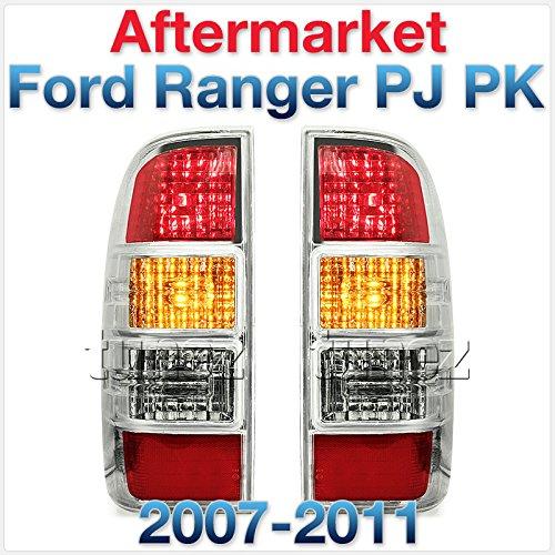 Tunez Faro trasero para Ranger PJPK 2007 - 2011 Ute de repuesto de lámpara Set par izquierdo + derecho lado camión