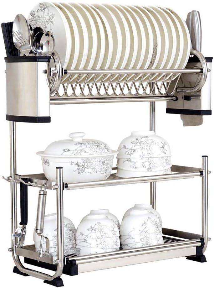 JINWEIH Kitchenware 3-Layer 304 Stainless Wall- Ranking TOP14 Steel Kansas City Mall Dish Rack