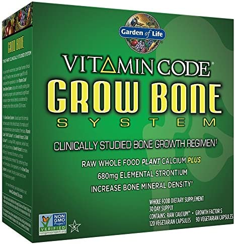 Garden of Life Vitamin Code Grow Bone System 30 Day Supply product image