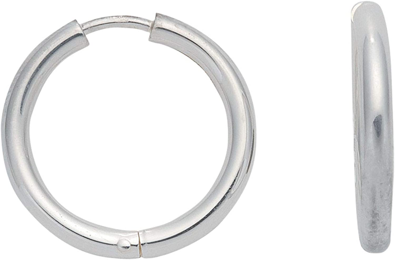 1 Paar Silber Ohrringe Creolen 925 Sterling Silber  2.07 cm