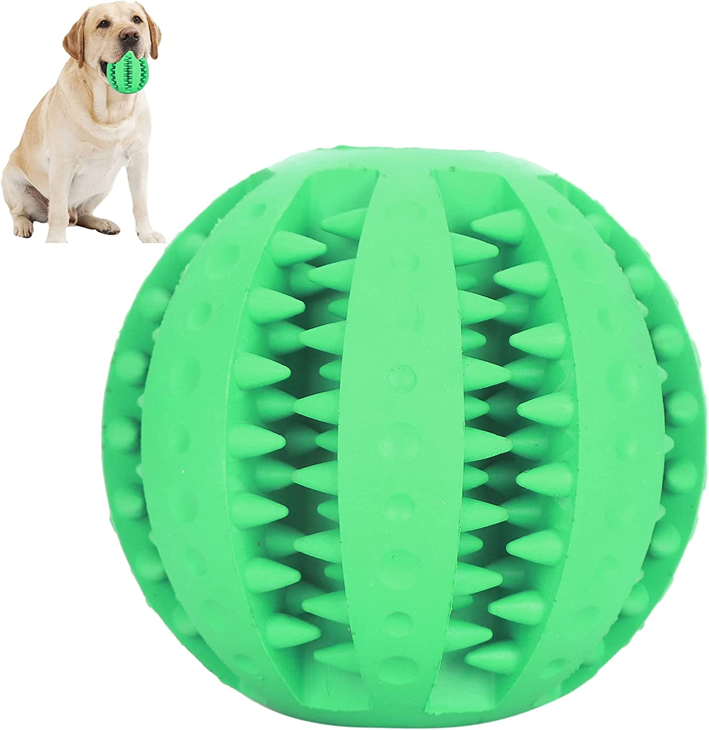 Pet Toy Ball Teething Limited Special Price Treat Clever Rubber Max 61% OFF Leakage Material