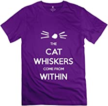 Jiaso Men's Funny DAM AND PHIL The Cats Whiskers T Shirts