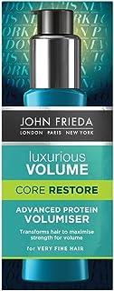 JOHN FRIEDA Luxurious Volume Core Restore Advanced Protein Volumizer, 60 ml - Maximise volume. Weightlessly transform fine...