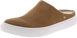 Kenneth Cole New York Women's Mara Mule Slip on Sneaker, Almond Nubuck, Size 5.5