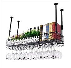 Wall-Mounted Wine Racks, Hanging Wine Glass Holder, Rustic Wine Holder, Wall Shelf Storage Rack, Multi - Function Shelves ...