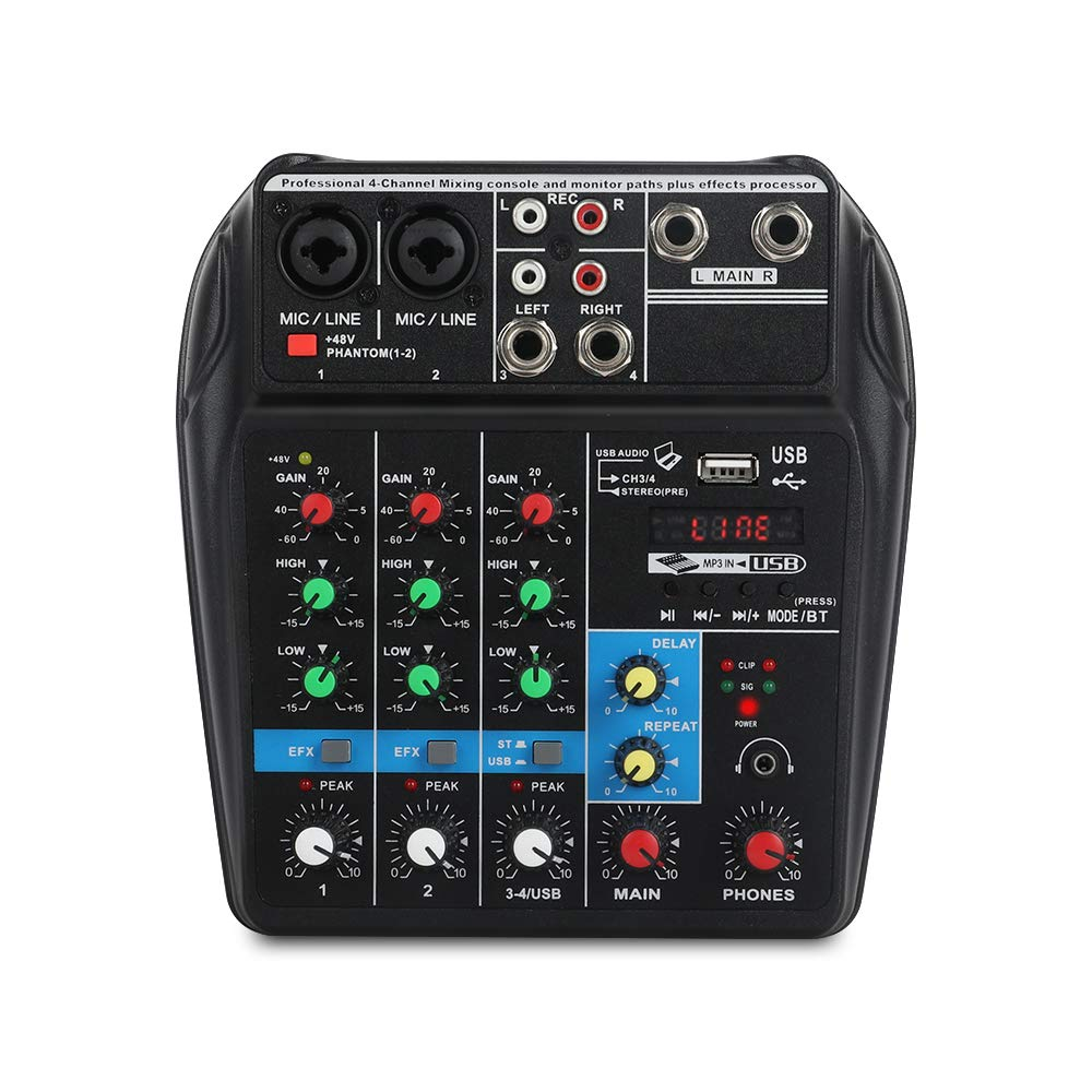 A4 4Channels Console Bluetooth production