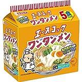 エースコック ワンタンメン 1箱5食入×6袋