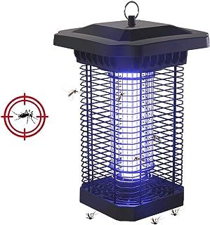 BZLEK Lámpara Antimosquitos UV, Trampas para Insectos Matamoscas con IPX4 A Prueba De Agua, Efectivamente Reducir Interior Y Al Aire Libre Insectos Voladores, Usado para Cámping Luces De La Tienda