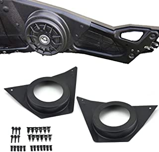 KEMIMOTO, RZR Front Door Speaker Pods for 2015 2016 2017 2018 2019 Polaris RZR 900 S 1000 XP ACE