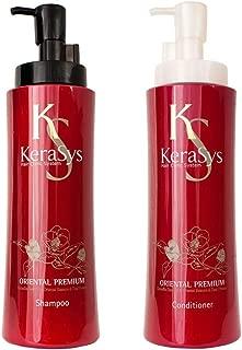 Aekyung Kerasys Oriental Premium Shampoo(600ML) and Conditioner (600ML) sets