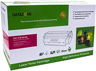 Datazone Magenta laser Toner Compatible for printers M575dn-MFP M575f-M551dn-M551n-M551xh- MFP M575c-MFP M570dn CE403A (507A)