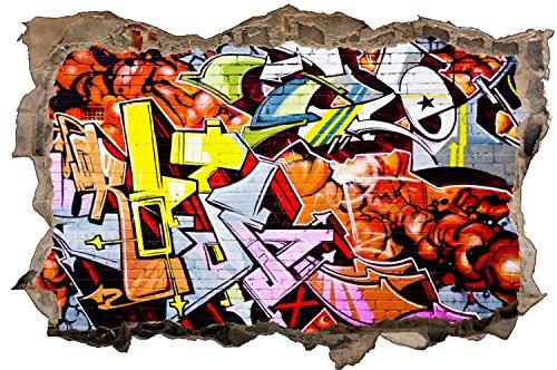 Kunst Graffiti Kunstwerk Wandtattoo Wandsticker Wandaufkleber D1265 Größe 70 cm x 110 cm