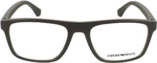 Emporio Armani EA 3159 BLACK 53/18/142 men Eyewear Frame