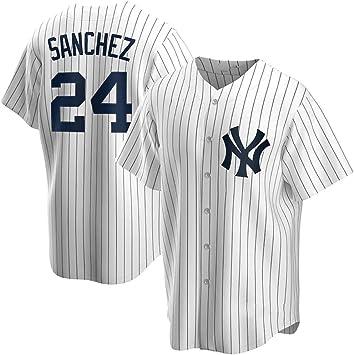 GMRZ Camiseta de béisbol para hombre, con New York Yankees ...