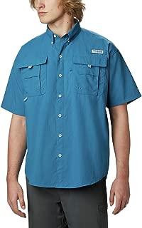 Men's Bahama Ii Short Sleeve Shirt, Dark Turquoise, Large