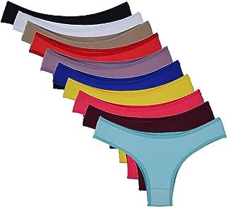 Kit 10 Calcinhas Conforto Coloridas