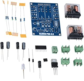 FidgetKute DIY Kit 12-24V Dual Relay 7812 + UPC1237 Speaker Protection Board Module SP Show One Size