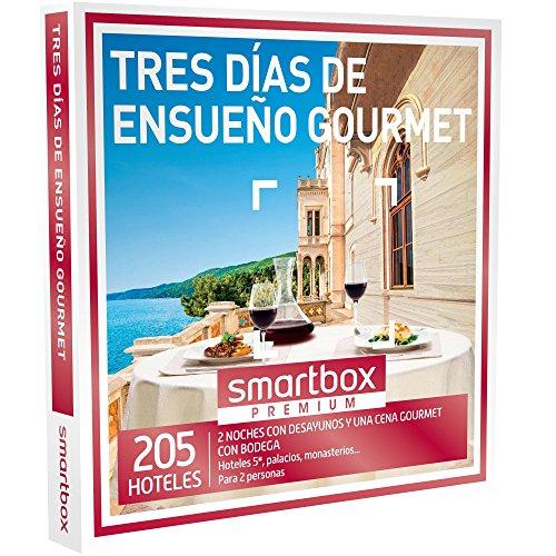 SMARTBOX - Caja Regalo -TRES DÍAS DE ENSUEÑO GOURMET - 205 lujosos hoteles 5*, palacios y...