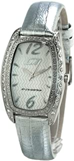 Chronotech Womens Analogue Quartz Watch with Leather Strap CC7121LS-06