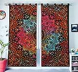 Behandlungen Room Decor Verdunkelung Home Decor Fenster Behandlung böhmischen drapieren Blackout