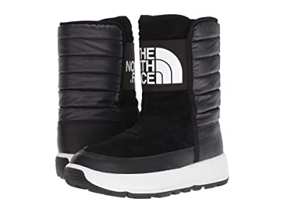 The North Face Ozone Park Winter Pull-On Boot (TNF Black/TNF White) Women