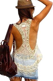 YAXINHE 女性ファッション編みかぎ針編みビーチドレスセクシービキニをカバー