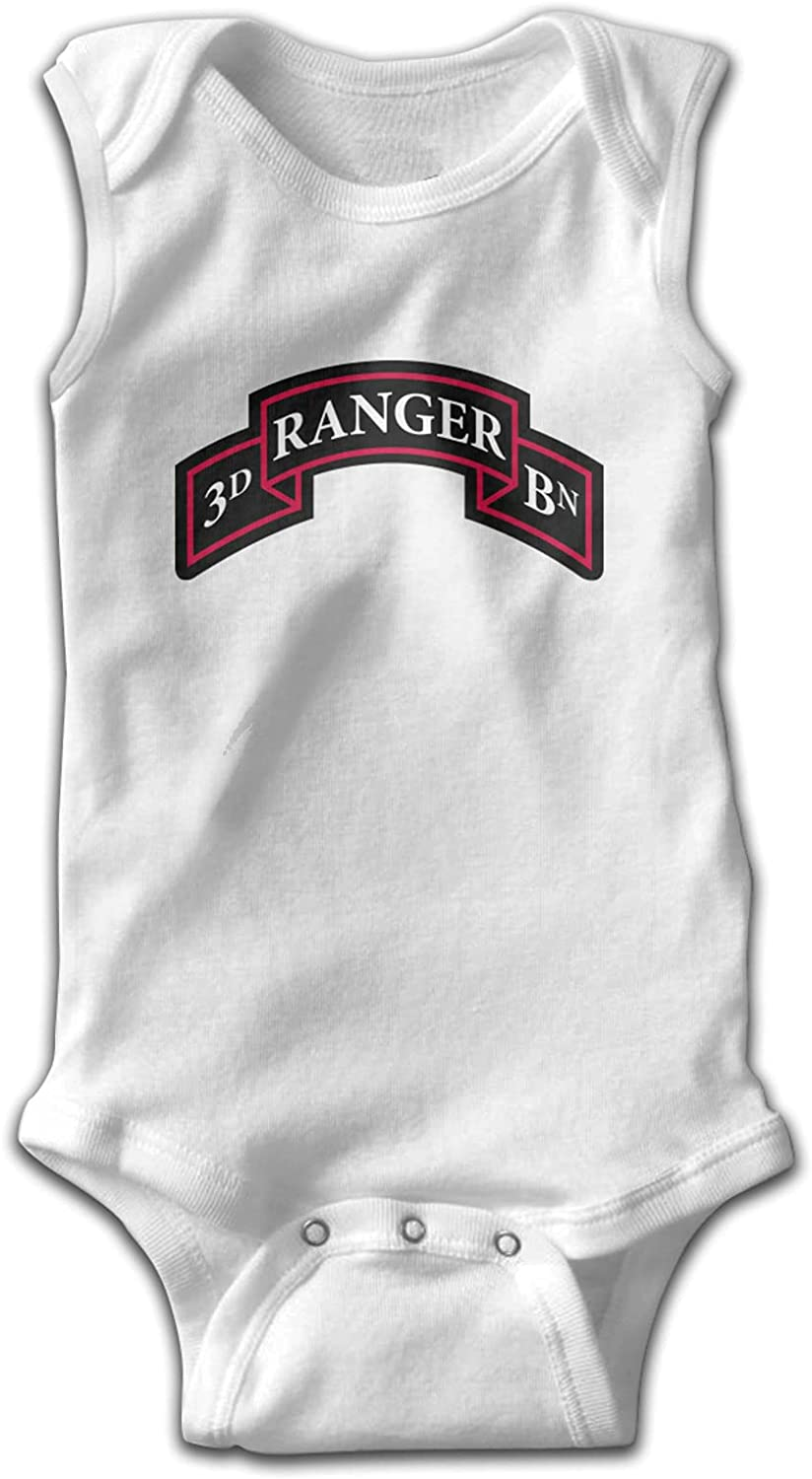 US Army 3D Ranger Baby Jay Ranking TOP10 Toddlers Babies Bod Sleeveless Sale Onesie