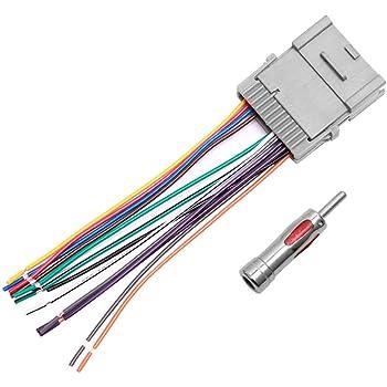KD-AR555 KD-AHD57 Mobilistics Wire Harness fits JVC Car Stereo 16 pin Wire Connector KD-A525 KD-R370 J16C.1 KD-HDR61