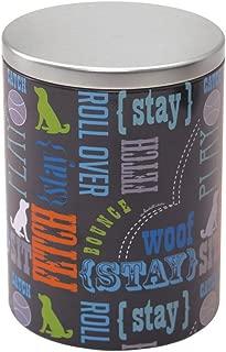 Paw Prints Tin Treat Container Wordplay