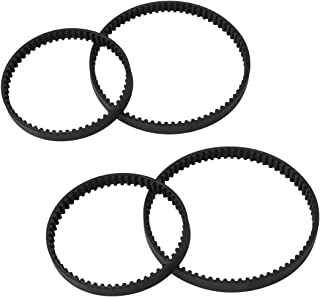 LANMU Belts Set for Bissell ProHeat 2X,Replacement Vacuum Belt Parts #203-6688 and #203-6804 (2 Set)